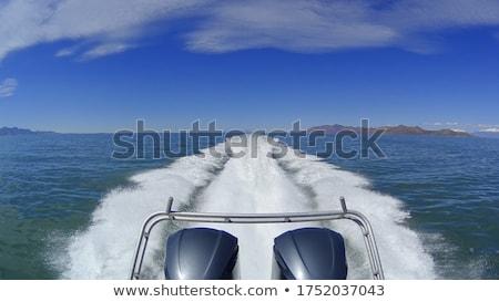 Motorboat engine Stock photo © Nneirda