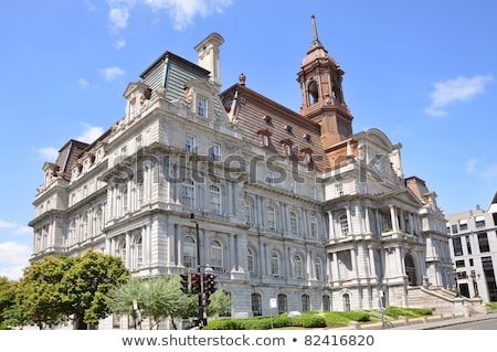 Montreal City Hall in Canada Stock photo © aladin66