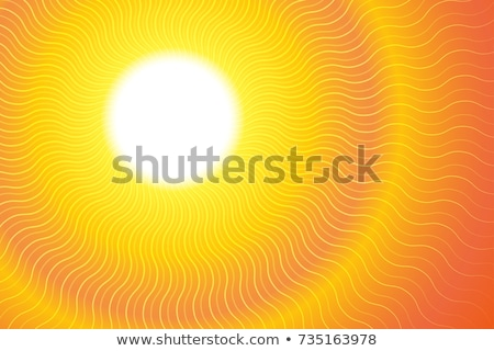 Stock photo: heat wave background