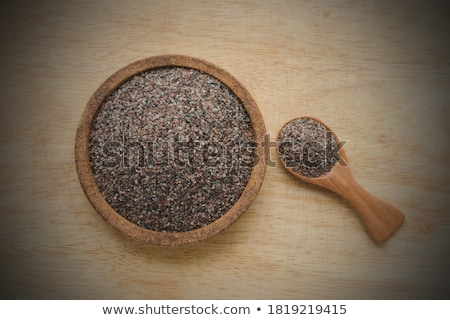 Kala namak or Black salt of South Asia Stock photo © bdspn