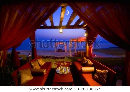 noite · sonho · Árabes · ver · horizonte · céu - foto stock © BibiDesign