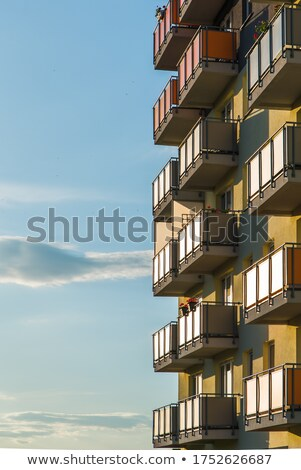modern block house Stock photo © tracer