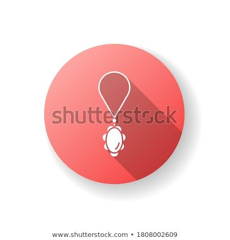 Gemma pietra colore icone lungo ombra Foto d'archivio © nalinratphi
