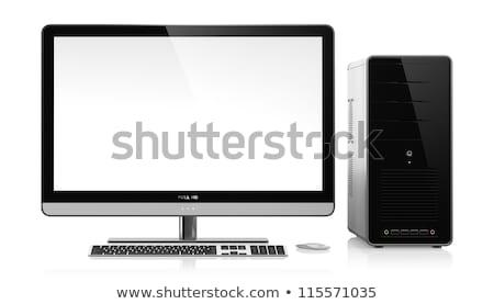 Geval krachtig persoonlijke werk technologie Stockfoto © courtyardpix