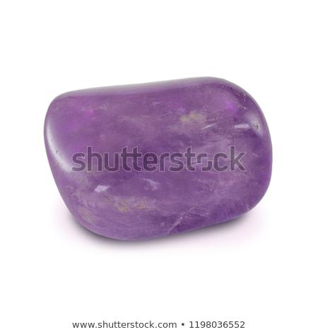 áspero amatista fondo rock piedra color Foto stock © pixelman