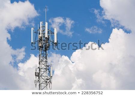 cell · torre · radio · antenna · fuori - foto d'archivio © stevanovicigor
