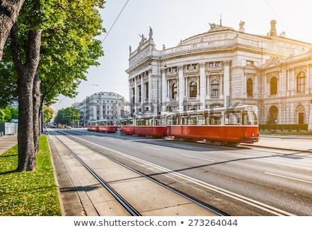 Burgtheater building in Vienna, Austria Stock photo © AndreyKr