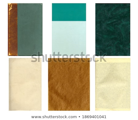 Old Parchment Paper With Grunge Green Tint Stock photo © rcarner