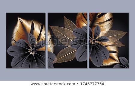 Stock fotó: Szett · végtelenített · klasszikus · minták · vektor · feketefehér
