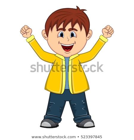bonitinho · menino · sorridente · preto - foto stock © wavebreak_media