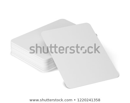 Jokers cards from a deck isolated Stock photo © jordanrusev