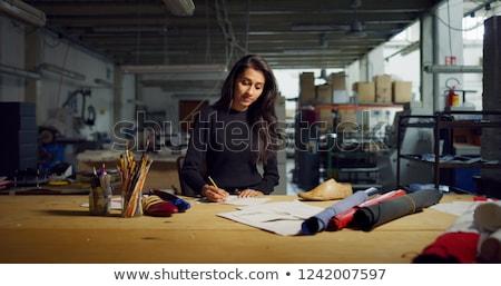 Fashion designer thinking stock photo © nyul