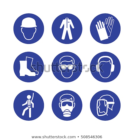 газ знак синий вектора икона дизайна Сток-фото © rizwanali3d