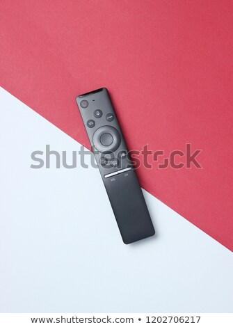 Tv, media player and remote control Stock photo © magraphics