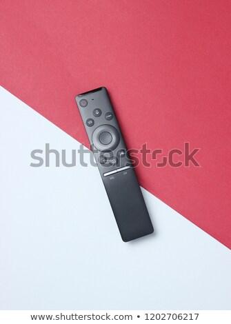 Tv media speler afstandsbediening smart touch Stockfoto © magraphics