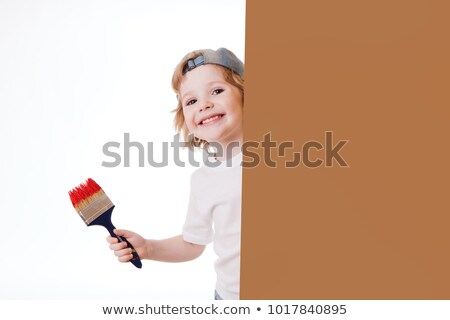 boy painted for holiday Stock photo © Paha_L