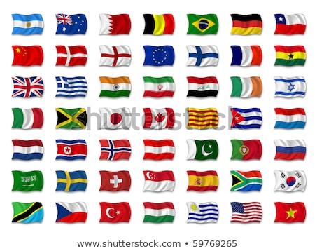 Саудовская Аравия Танзания флагами головоломки изолированный белый Сток-фото © Istanbul2009