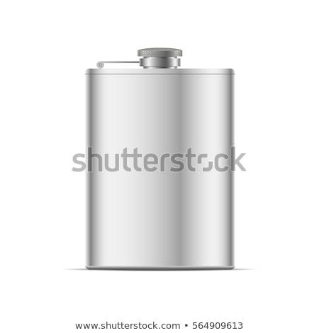 inoxidável · quadril · isolado · branco · beber - foto stock © shutswis