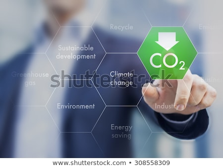Greenhouse Gas Emissions Stock photo © blamb