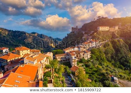 旧市街 市 映画 シチリア島 イタリア 太陽 ストックフォト © Steffus