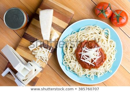 parmezaanse · kaas · gezondheid · kaas · binnenshuis · voeding · detail - stockfoto © ozgur