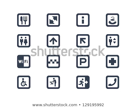 parking sign for women with children Stock photo © djdarkflower