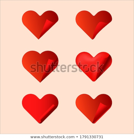 Set the volume of hearts with lovers. Stock photo © AlonPerf