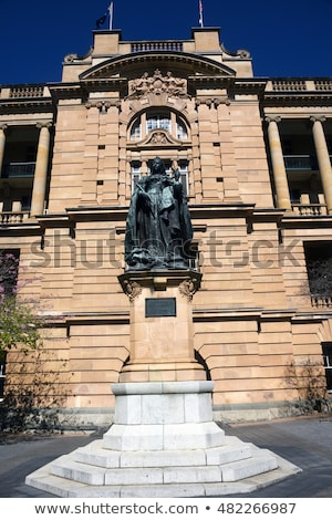 Queen Victoria Statue, Brisbane Stock photo © kraskoff