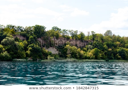 River with reflaction of trees and  summer nature Stock photo © dmitroza