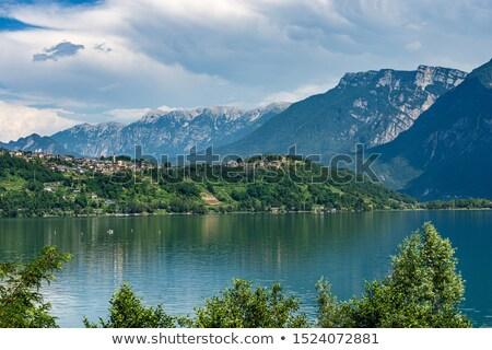 Valsugana valley in Trentino Stock photo © LianeM