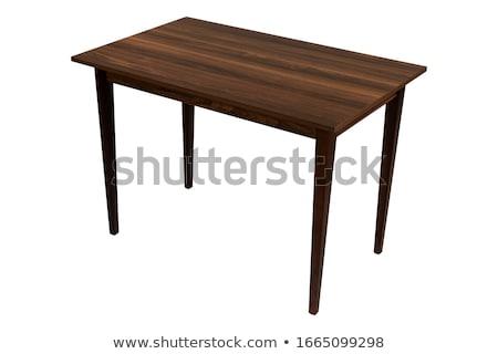Life is good on wooden table Stock photo © fuzzbones0