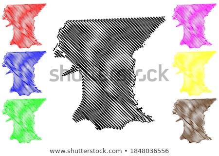 policjant · szkic · ikona · wektora · odizolowany - zdjęcia stock © rastudio