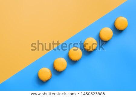 köteg · mandulák · citromsárga · copy · space · kagyló · nyers - stock fotó © szabiphotography