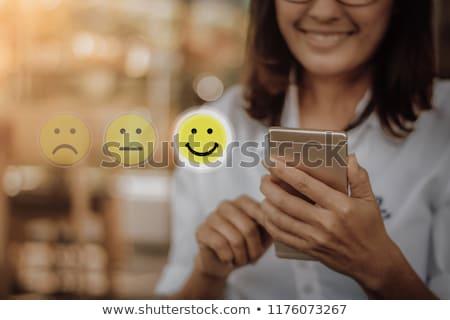 Happy customer. Stock photo © Kurhan
