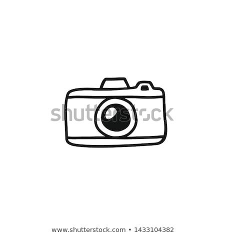 нормальный · глаза · видение · ярко · синий · глазах - Сток-фото © vectorworks51