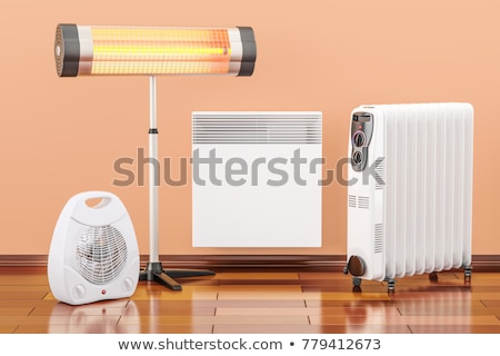 Infrared Thermal Image of Radiator Heater in house Stock photo © smuki