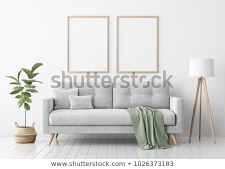 two frames design with leaves stock photo © bluering