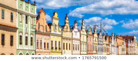 Czech Facades Stock photo © Artlover