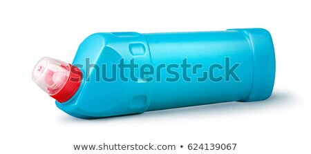 Disinfectant in a plastic bottle horizontally rotated Stock photo © Cipariss