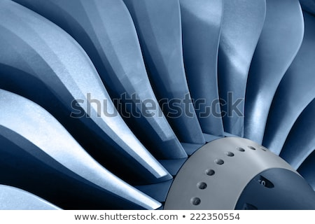 Force of Jet Engine stock photo © rghenry