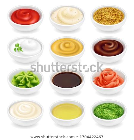 Pesto Rood jar niemand Stockfoto © Digifoodstock