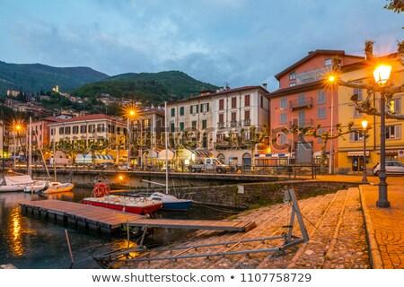 meer · landschap · regio · Italië · Europa · wolken - stockfoto © lianem