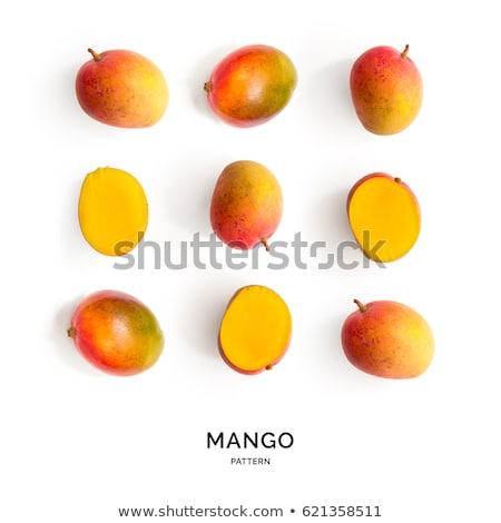 Rijp organisch mango vers product houten Stockfoto © Lana_M
