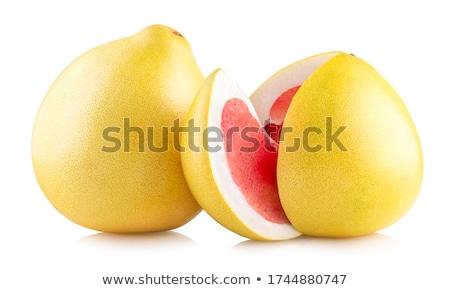 Friss érett kék hely gyümölcs citromsárga Stock fotó © Digifoodstock