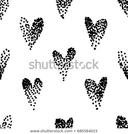 colección · negro · círculos · textura · diseno - foto stock © sonya_illustrations
