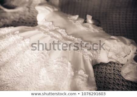 Christening dress detail Stock photo © gsermek