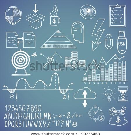 メガホン · デジタル · マーケティング · 手 · 異なる - ストックフォト © tashatuvango