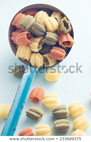 uncooked calici pasta Stock photo © jirkaejc