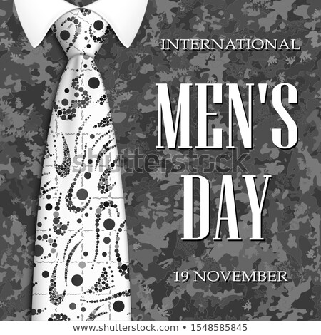 banner mens day 3d stock photo © olena