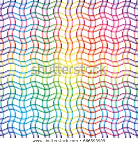 Wavy blured lines seamless white background. Stock photo © almagami